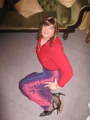 All men are frauds...... (Julie Bracken) Tags: old red portrait fashion hair tv cd mini skirt crossdressing tgirl transgender mature tranny transvestite crossdresser crossdress kinky tg trannie mtf m2f feminized enfemme xdresser tgurl feminised transsister julieb85