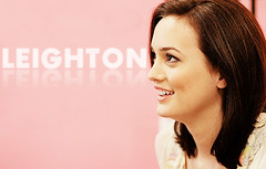 Leighton Meester - Reflection (bitchymode) Tags: girl graphic banner leighton blend gossip meester