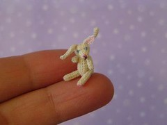 Abracadabra (MUFFA Miniatures) Tags: cute rabbit miniature funny doll crochet amigurumi dollhouse whiterabbit muffa cdhm threadanimals threadminiatures