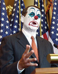 John Boehner (Rep. R-OH):: Obstructionist Republican Clown by Hebiclens / WMxdesign