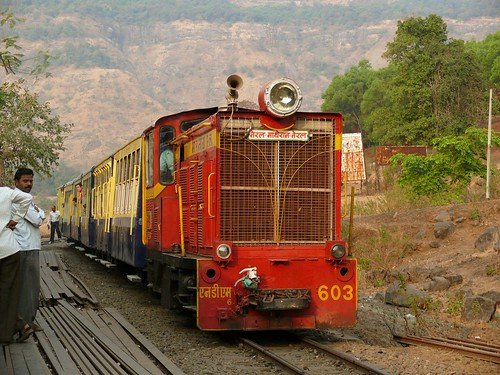 Neral - Matheran Toy Train