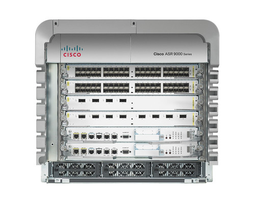 Cisco ASR 9006 (doors off)