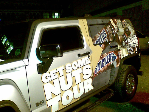 Mr T's Snickers Car