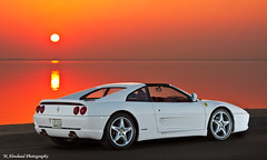 Ferrari 355 GTS (Part III) (Mishari Al-Reshaid Photography) Tags: sunset sea sun white reflection cars water car speed photoshop canon reflections italian automobile ferrari shore kuwait autos canondslr canoneos supercar photoshopcs2 automobiles sportscars gts q8 carphotos carphotography 24105 355 canonef24105f4l gtm carphoto canoncamera canonphotos canoneflens 24105mm q80 canonllens 40d mishari canonef24105f4lis kuwaitphoto kuwaitphotos 580exii canoneos40d canon40d kuwaitcars kvwc kuwaitartphoto gtmq8 kuwaitart kuwaitvoluntaryworkcenter kuwaitvwc grendizer99 canon580exiiflash kuwaitsunsets kuwaitphotography grendizer99photos misharialreshaid malreshaid misharyalrasheed