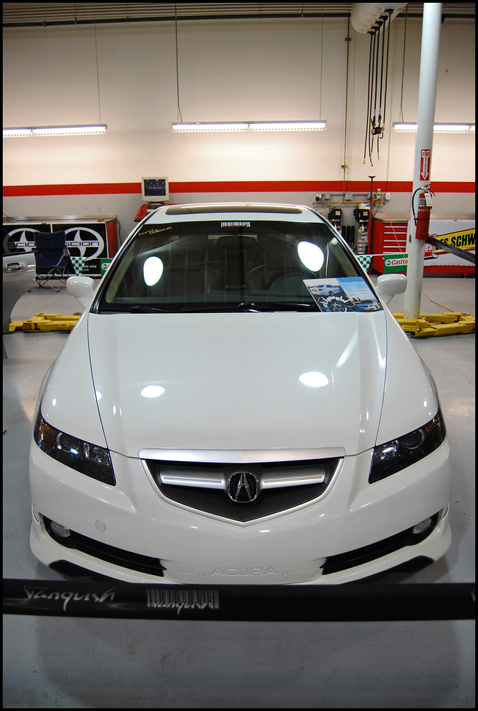 Got JnCs Custom Headlights Post Pictures Here AcuraZine Acura - 2004 acura tl headlights