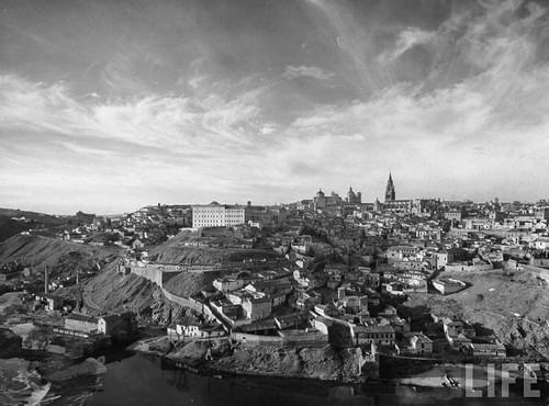 Toledo en 1949. Fotografía de Dmitri Kessel. Revista Life (1)