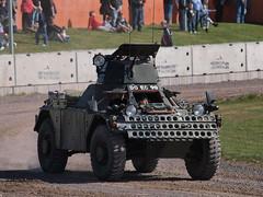 Ferret Armoured Car (Megashorts) Tags: uk car army ferret war tank military scout armor dorset vehicle british fighting armour armored tankmuseum daimler armoured bovingtontankmuseum 70yearsoftheroyalarmouredcorps bovingtonmuseum ppdcb4