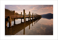 Coniston Water (Ian Bramham) Tags: england lake colour water landscape photo nikon jetty explore cumbria coniston thelakedistrict d40 ianbramham welcomeuk