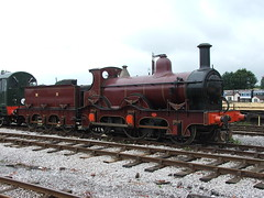 Midland Railway 2-4-0 Kirtley '156' Class Number 158A ( Claire ) Tags: engine steam locomotive 240 swanwick midlandrailway butterley kirtley 158a