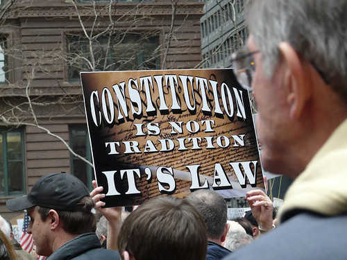 Constitution is the Law