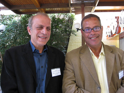 Sabri Abdel Aziz and Mohamed Abdel Maksoud, photo by the Egypt Exploration Society