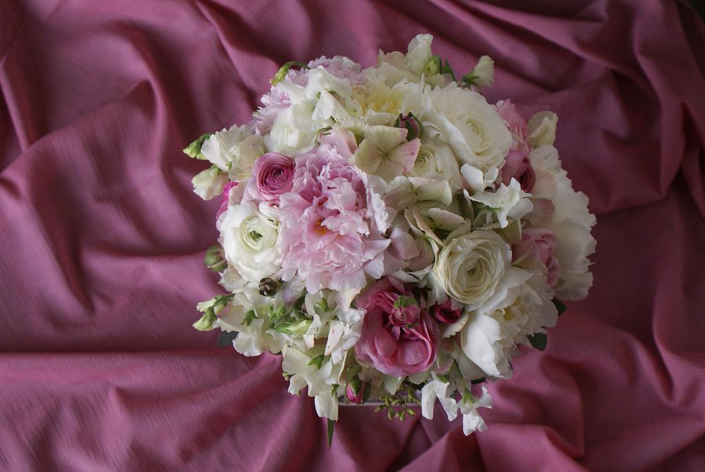 Peony Bridal Bouquet 1