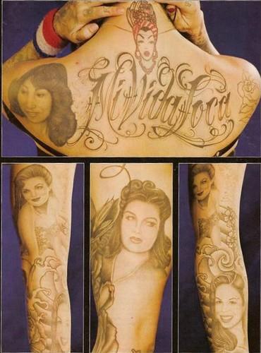 Mi Vida Loca Her Tattoos