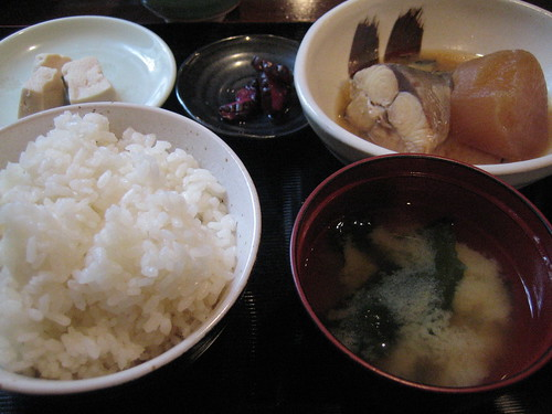 某一天的午餐,與日本代理商一起吃
