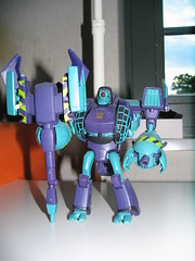 Lugnut. Loyal and powerful. And purple. Very purple
