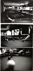 triptych pool (echohoody) Tags: trip white 3 black film pool horizontal three hall triptych d n diana dee tic triptic billards wite triptich tych blk tich tirp wht