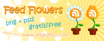 Iconos Gratuitos estilo Flores para Feeds