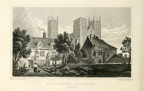 007- Catedral de Canterbury-1830