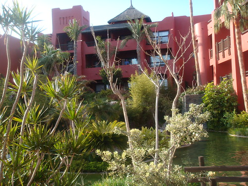 Jardines interiores del Hotel