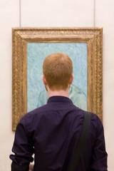 Vincent ? (Jean Lemoine) Tags: paris museum painting gold back raw or vincent peinture redhead dos frame impressionism acr tamron vangogh impressionist cadre frdric roux musedorsay 2875mmf28 impressionsexpressions 450d mrpan