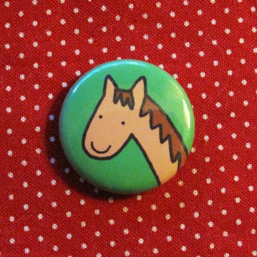 Pretty Pony Button.