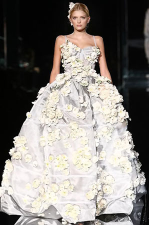 Dolce and Gabbana wedding gown