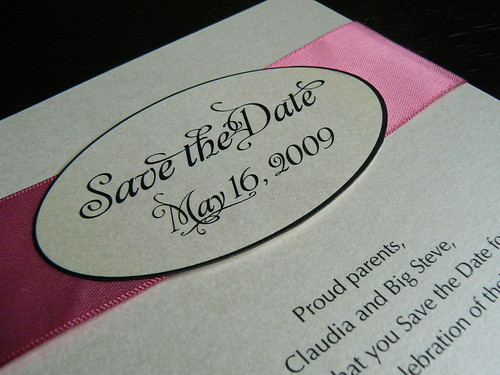 Danielle's Save the Date