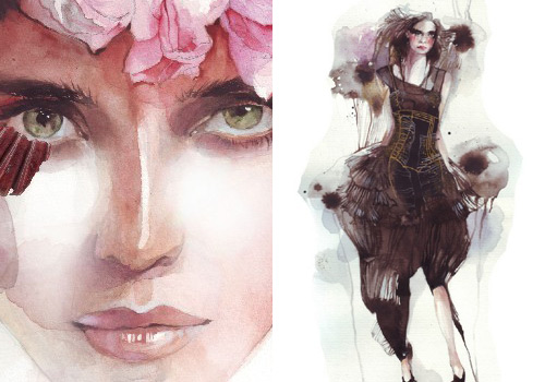 3518466328 6b20efa428 o 30 Fashion Illustrators You Cant Miss Part 1
