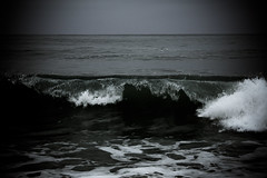 we made love by the ocean, (ashley rose,) Tags: beach dark lyrics waves break cloudy foggy overcast sanclemente sanonofre whitewash ashleyrose canonrebelxsi ashleyrosex jamieallovermaydayparade