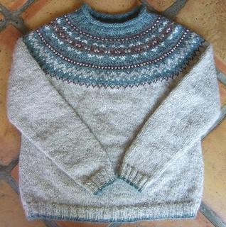 Ravelry: Fair Isle Yoke Pullover pattern by Elizabeth Zimmermann