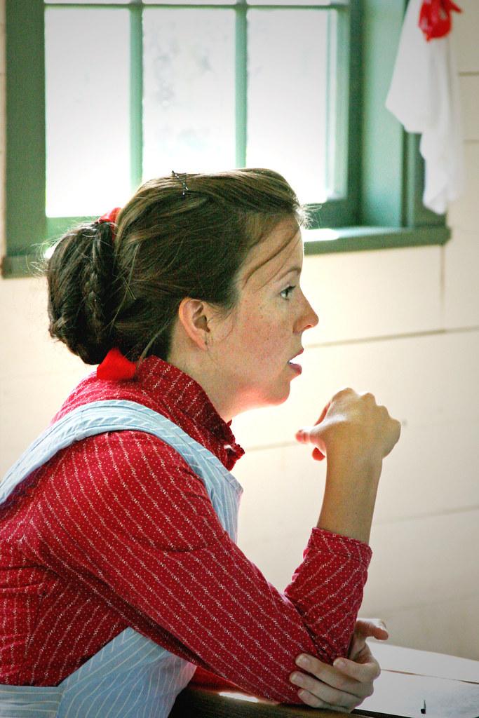 Conner Prairie School Teacher