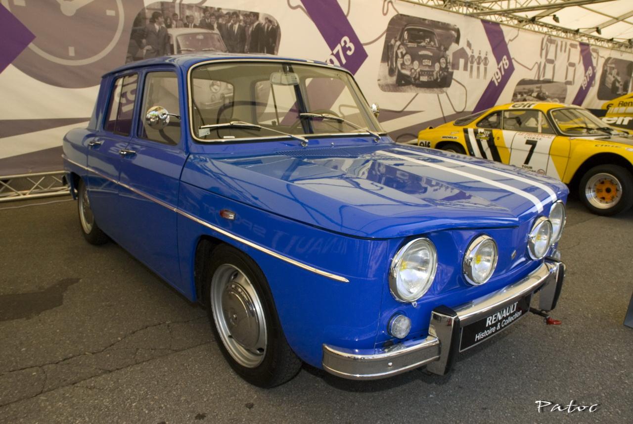 Renault R8 Gordini Stand