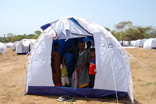 IDP camp - Pulmoddai 115