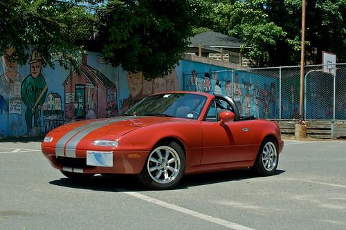 フリー画像| 自動車| スポーツカー| マツダ/MAZDA| マツダ ロードスター| 日本車|      フリー素材|