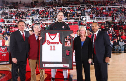Tomas Jasiulionis senior day