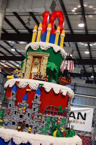 giant lego cake