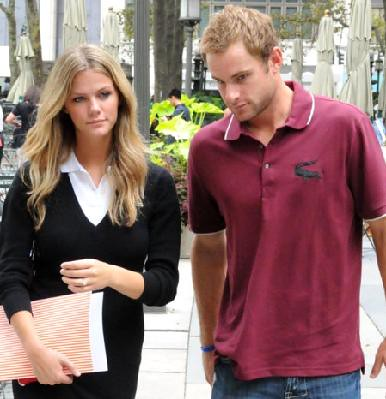 Photo of Brooklyn Decker and Andy Roddick