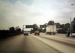Northbound I-5 at junction I-605 (FreewayDan) Tags: california freeway interstate5 641999