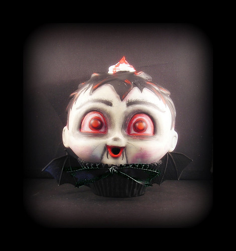 Baby Blood Sucker Creepy Cupcake Kid - Halloween