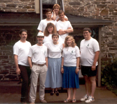 Hartman Center Camp Family, 1989 (Click to enlarge)