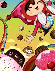 Cakey-Woosh 1 (TADO DEATH BRIGADE) Tags: cakes hongkong candy sandy exhibition buns loulou bubu tado tummie