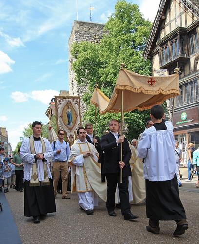 Corpus Christi Procession on Cornmarket