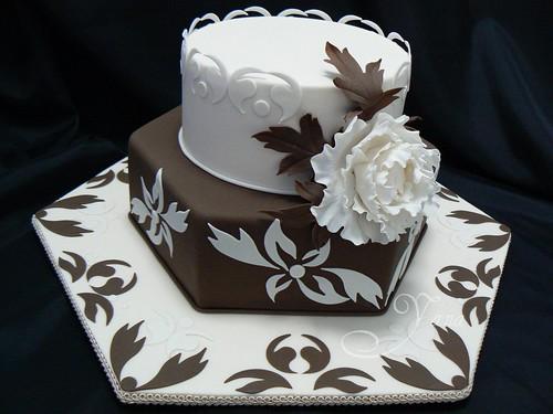 SA State Competition Chocolate Wedding Cake