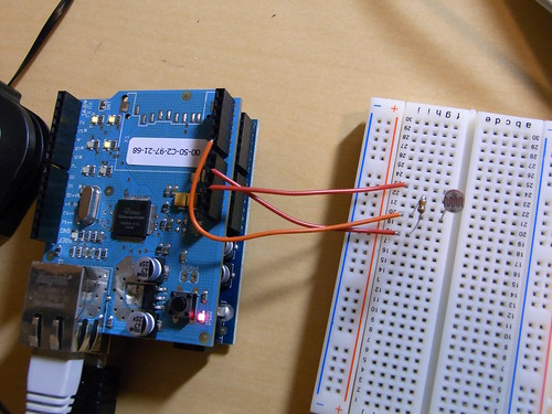Arduino Light Sensor Circuit