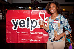 Cheerful Yelp Patron