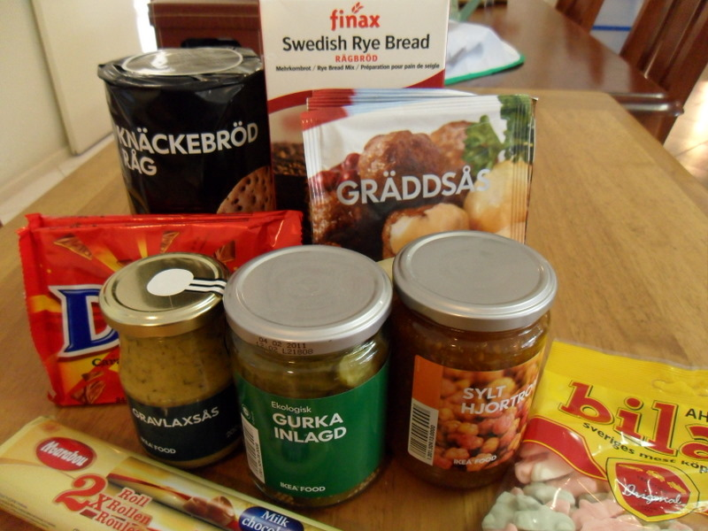IKEA non-perishable food