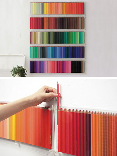 pencil display