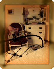 In the Land of Dreams 2 (annicariad) Tags: sepia wales bedroom cymru annicariad