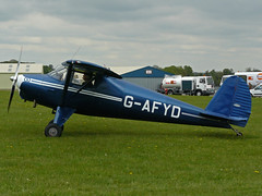 G-AFYD (QSY on-route) Tags: kemble gafyd egbp gvfwe greatvintageflyingweekend 09052010