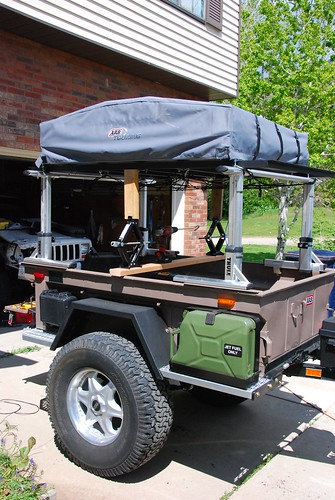 What kind of rack to mount on trailer for future RTT? - Expedition ...